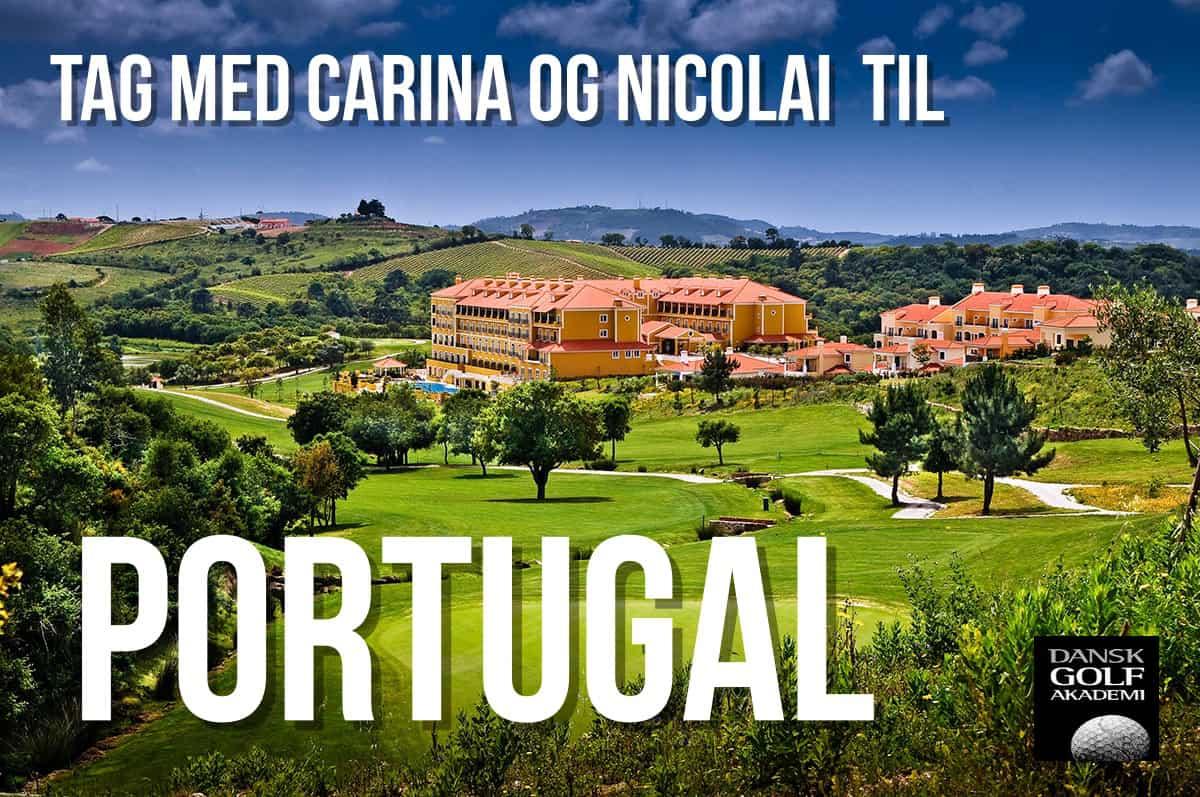 Golfrejse - Portugal med Carina og Nicolai